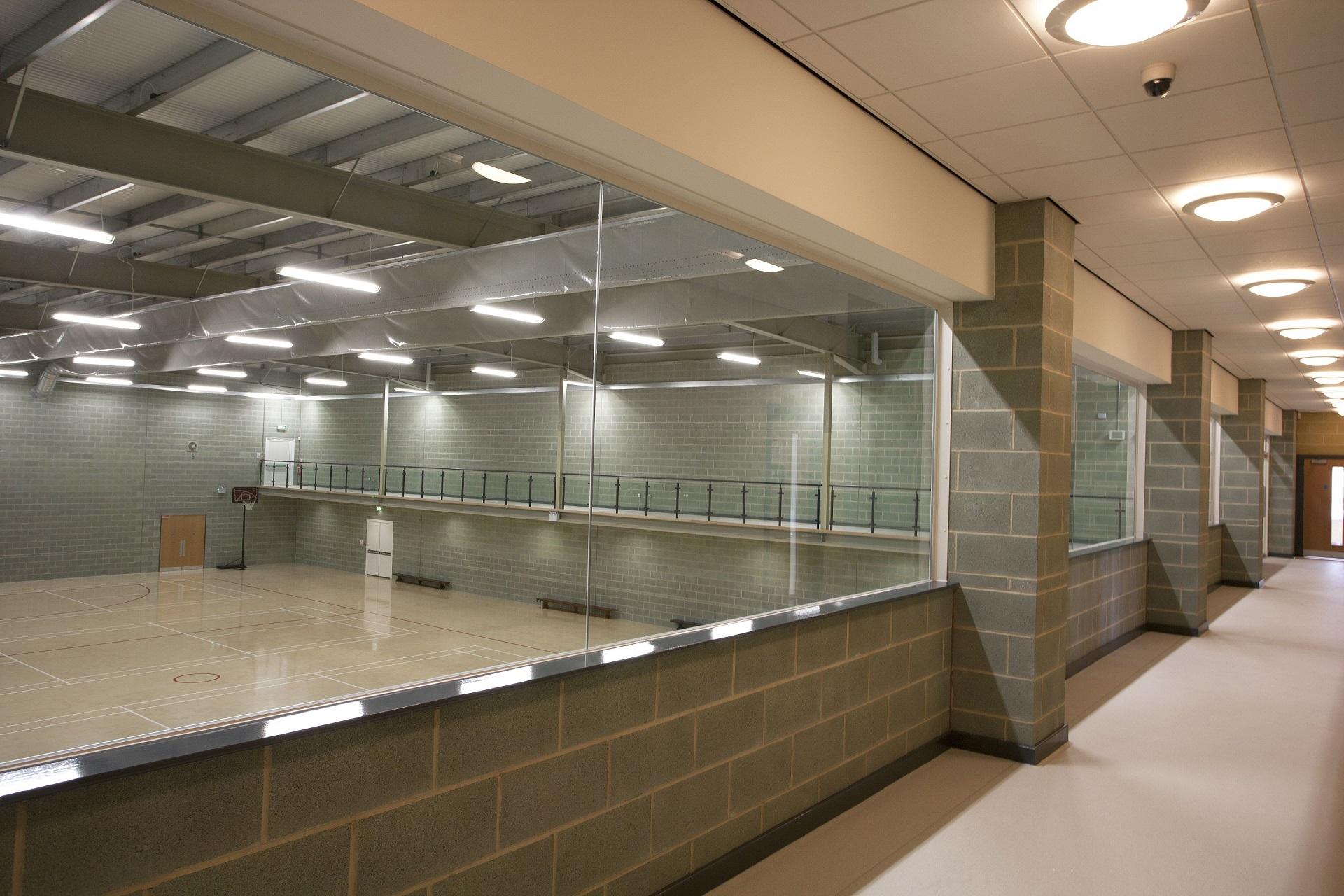 Dartford Grammar School For Girls Sports Hall Sealtite